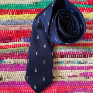 Tommy Hilfiger Christmas Dog Santa Hat Tie